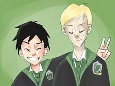 Slytherins by Rita20000.deviantart.com on @DeviantArt