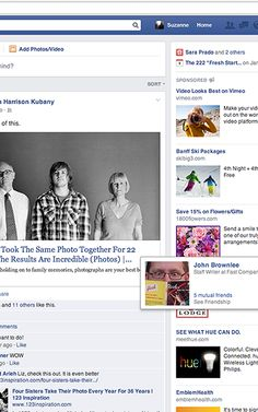 Facebook Is Testing A News Feed That Looks More Like A Newspaper #serif
