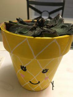 Sad plant, happy pot