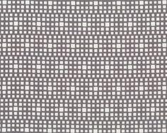 Feiner Popeline-Patchworkstoff SQUARED ELEMENTS, Quadrat-Optik, steingrau-gebrochenes weiß