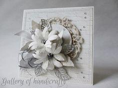 Gallery of handicrafts: Tutorial - kartka z ramką