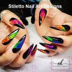 Whether you smoke or not? You must have seen the effect of smoke coming out of your mouth. Today let's see what the smoke nail designs look like. As you can see, smork nails are beautiful and attractive. Look at our collection of 28 smoke nail art de Rainbow Nails, Neon Nails, Swag Nails, Neon Nail Art, Pastel Nails, Fancy Nail Art, Black Nail Art, Grunge Nails, Cute Acrylic Nail Designs