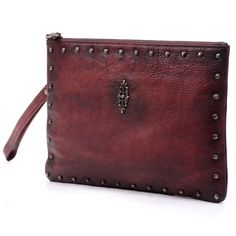 """12""""Women leather messenger bag  Vintage red wine leather cluthes bag,crossbody bag,handbag,shoulder bag,evening bag,leather tote bag-N020"""