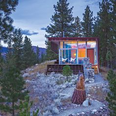 Off the grid and eco-conscious cabins