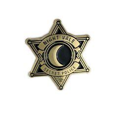 Sheriff's Secret Police Pin