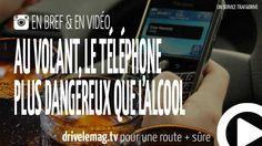 #VIDÉOBRÈVE Le #téléphone plus dangereux que l'#alcool au volant ?: Le smartphone encore plus dangereux que l'alcool… pour + d'infos/vidéo