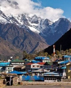 You'll be hiking the mountain from teahouse to teahouse  — simple but friendly accommodations. #Jetsetter  http://www.jetsetter.com/hotels/nepal/kathmandu/1953/everest-basecamp-with-bio-bio?nm=calendar=13