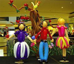 Themed Balloon Display