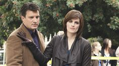 Castle, Beckett and a forthcoming Jordan Shaw.  Wouldn't mind seeing her come back again for another storyline.
