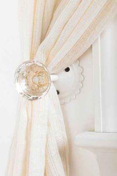 Embrasse de rideau Poignée de porte