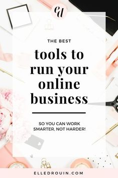 The best tools to run your online business so you can work smarter, not harder! These are the 12 top tools I use every day Small Business Marketing, Content Marketing, Online Marketing, Digital Marketing, Marketing Ideas, Social Marketing, Marketing Tools, Affiliate Marketing, Internet Marketing