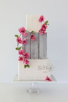 Wedding Cakes Brisbane, Sunshine Coast and Gold Coast - Collection of iced wedding cakes, and wedding cake designs including hand-crafted sugar flowers. Gorgeous Cakes, Pretty Cakes, Cute Cakes, Elegant Wedding Cakes, Wedding Cake Designs, Fondant Cakes, Cupcake Cakes, Wedding Cake Inspiration, Wedding Ideas