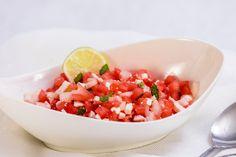 Slaný melounový salát – Snědeno.cz Mexican, Ethnic Recipes, Mexicans