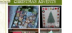 How to Make Recycled Christmas Advent Calendars!