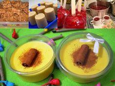 As 10 Receitas Fáceis Para Festa Junina têm os tradicionais arroz doce, canjica e curau; os bolos de fubá e de milho; maçã do amor, pé-de-moleque e paçoca,