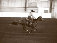 Barrel Racing Home Stretch