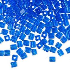 Seed bead, Miyuki, g Cobalt, Modern Stained Glass, Texture, Round Beads, Shades Of Blue, Seed Beads, Reflection, Seeds, Ajouter