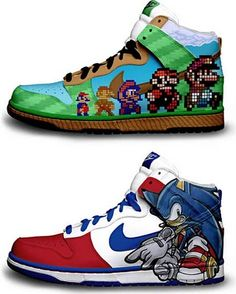 2014 cheap nike shoes for sale info collection off big discount.New nike roshe run,lebron james shoes,authentic jordans and nike foamposites 2014 online. Me Too Shoes, Men's Shoes, Nike Shoes, Custom Sneakers, Custom Shoes, Sonic Shoes, Zapatillas Jordan Retro, Funny Shoes, Nike Wedges