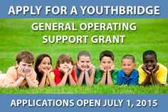 One-year grants up to $15,000 will be awarded to child and family serving organizations that primarily provide foster / adoptive care services or family support services designed to prevent child abuse and neglect