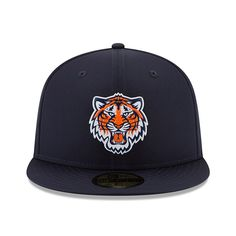 c6c184e3cc2968 Detroit Tigers New Era 2018 On-Field Prolight Batting Practice 59FIFTY  Fitted Hat – Navy