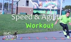 TABATA workout: 30 secs. on, 10 sec break. Increase Speed & Agility Training Workout Exercises @bradgouthro