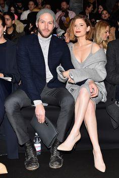 Derek Blasberg selects the 10 best dressed at Milan Fashion Week: Kate Mara