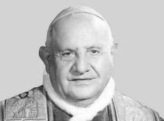 Giovanni XXIII, nato Angelo Giuseppe Roncalli (Sotto il Monte, 25 novembre 1881 – Città del Vaticano, 3 giugno1963), è stato il 261º vescovo di Roma e papa della Chiesa cattolica (il 260º successore di Pietro), Primate d'Italia e 3ºsovrano dello Stato della Città del Vaticano (accanto agli altri titoli connessi al suo ruolo). Fu eletto papa il 28 ottobre 1958