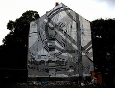 Sten Lex New Mural For CityLeaks '13 - Cologne, Germany