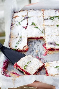 Raspberry Vanilla Pie – Best Cheap Christmas & Happy New Year Party Food Recipe - DIY Craft Sweet Recipes, Cake Recipes, Dessert Recipes, Yummy Treats, Sweet Treats, Yummy Food, Polish Recipes, Nigella, Sweet Cakes