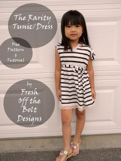The Rarity Tunic/Dress Free Pattern and Tutorial