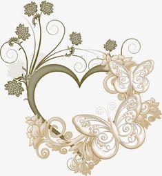 O Amor,A borboleta,Molduras de fotos de Amor,Butterfly Photo Frame,Moldura EM forma de coração