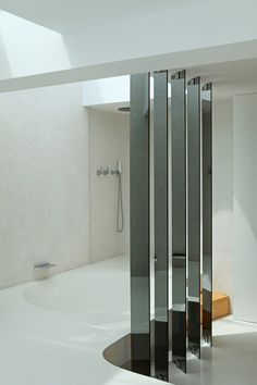 Penthouse by Josep Ruà Spatial designer Valencia, Open Concept, Bathtub, Loft, Interior Design, Architecture, Gallery, Dividers, Filter