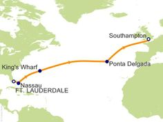 Cruise path. We started April 19th on Celebrity Eclipse.