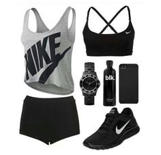 Cute workout outfit