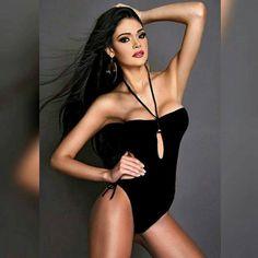 Miss Venezuela Andrea Rosales, en el Miss Earth 2015 en Austria..