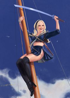 Babydoll Anchors A Wow by fantasio