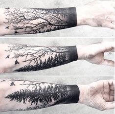 Caitlin Thomas Lucid Lines tattoo