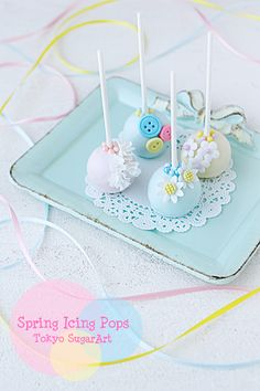 spring icing pops