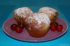 Muffin alle ciliegie, scopri la ricetta: http://www.misya.info/2012/05/31/muffin-alle-ciliegie.htm