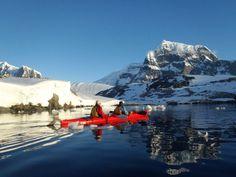 Kayaking in Antartica by Elspeth West - Aurora Antarctica - Australian Geographic