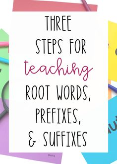 A three step strategy for teaching Greek and Latin root words, prefixes, and suffixes.  Lesson plan and activities for teaching roots, prefixes, and suffixes.  Increase reading comprehension and fluency!