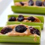Celery + Peanut butter = Daniel Fast Treat | Click for more DF Snack Ideas from http://amandacmcneil.com