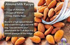 Almond milk recipe