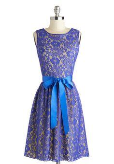 Looking Like a Million Dress in Blue Iris, #ModCloth