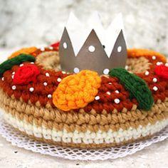 Roscón de Reyes a crochet