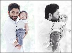 As promied earlier, Allu Arjun has released his son Ayaans pic. It was released as a gratitude to his beloved gans who made Race Gurram his best film in terms of collections till date. The movie h. Dj Images, Actors Images, Pictures Images, Hd Photos, Allu Arjun Hairstyle, Heroes Actors, Allu Arjun Wallpapers, Allu Arjun Images, Prabhas Pics