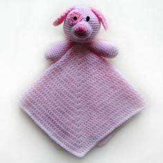 crochet dog security blanket