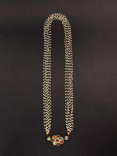 Navratan Pearl Necklace
