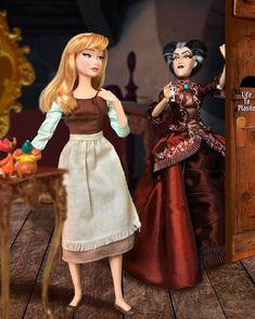 Disney Barbie Dolls, Disney Princess Dolls, Barbie And Ken, Disney Princesses, Disney Stuff, Disney Movies, Disney Characters, Cinderella Doll, Dolly Doll