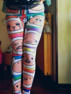 Finn Leggings! Adventure Time!